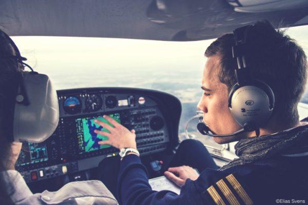 Pilots-inside-a-cockpit-flying