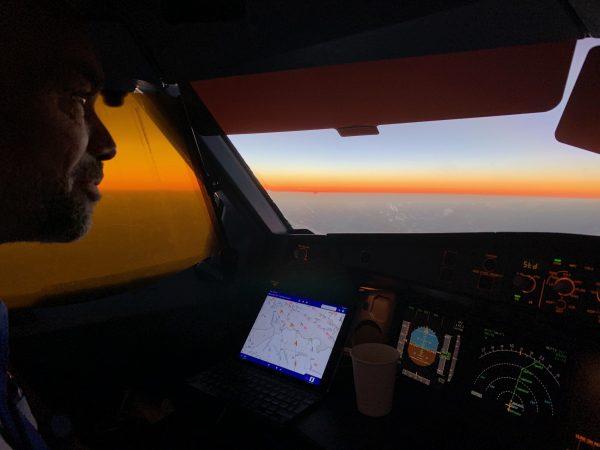 Captain-Ray-inside-a-cockpit